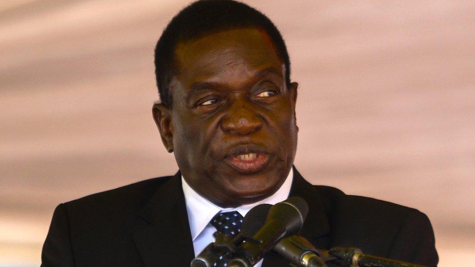 Emmerson Mnangagwa: The 'crocodile' who snapped back