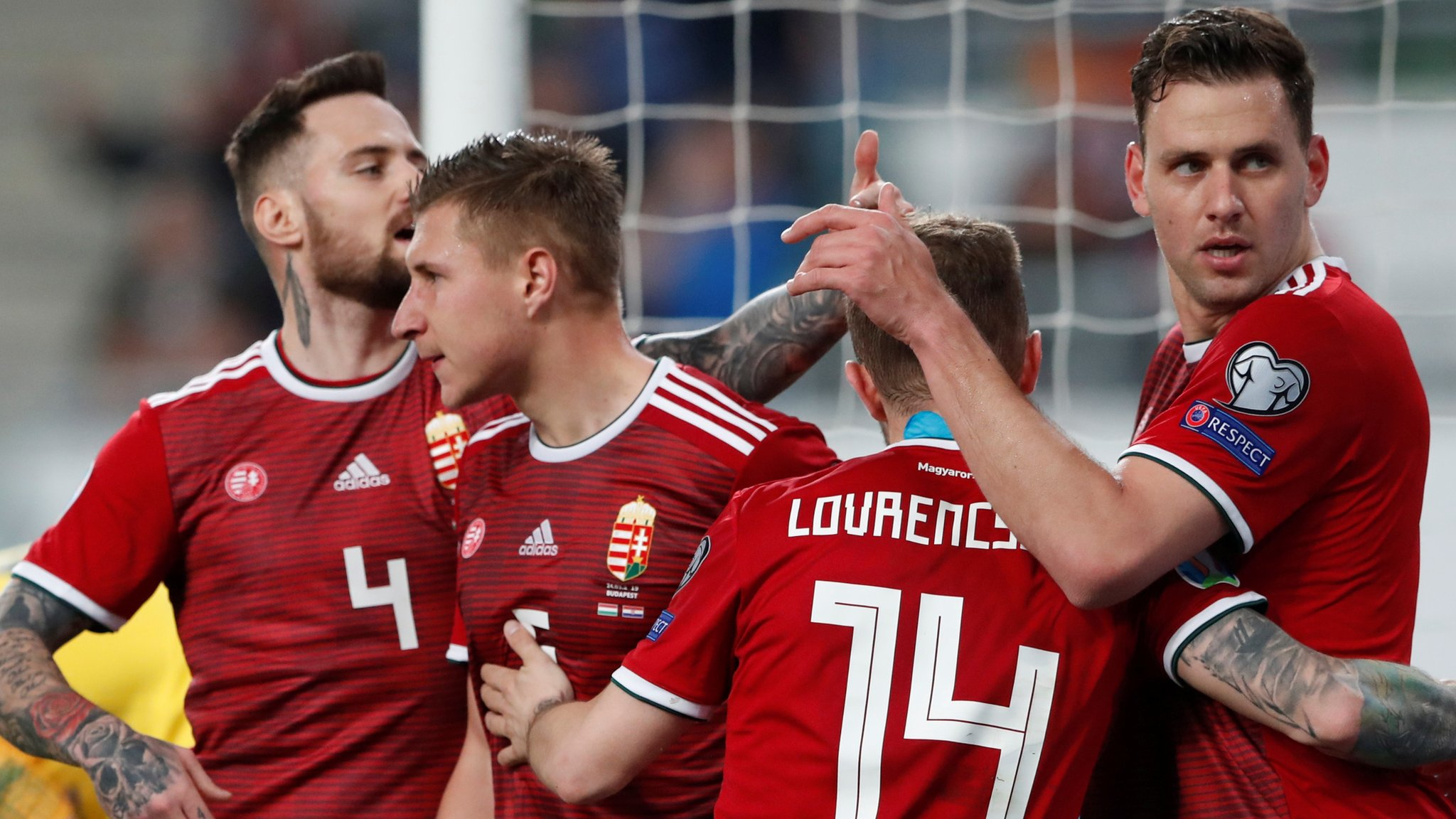 Hungary 2-1 Croatia: World Cup finalists beaten in Wales' Euro 2020 qualifying group