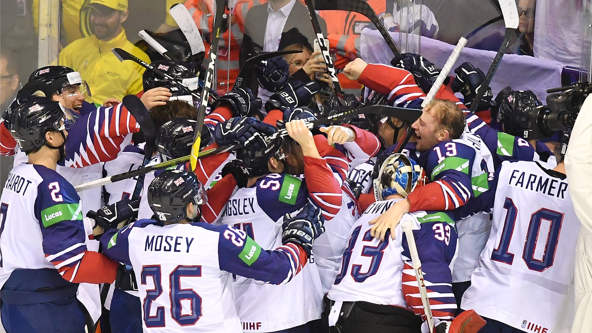 Britain stay in top division after dramatic overtime win