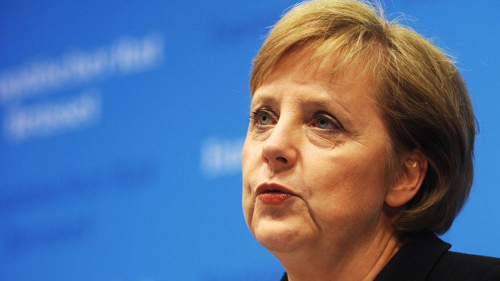 أنغيلا ميركل المستشارة الالمانية
