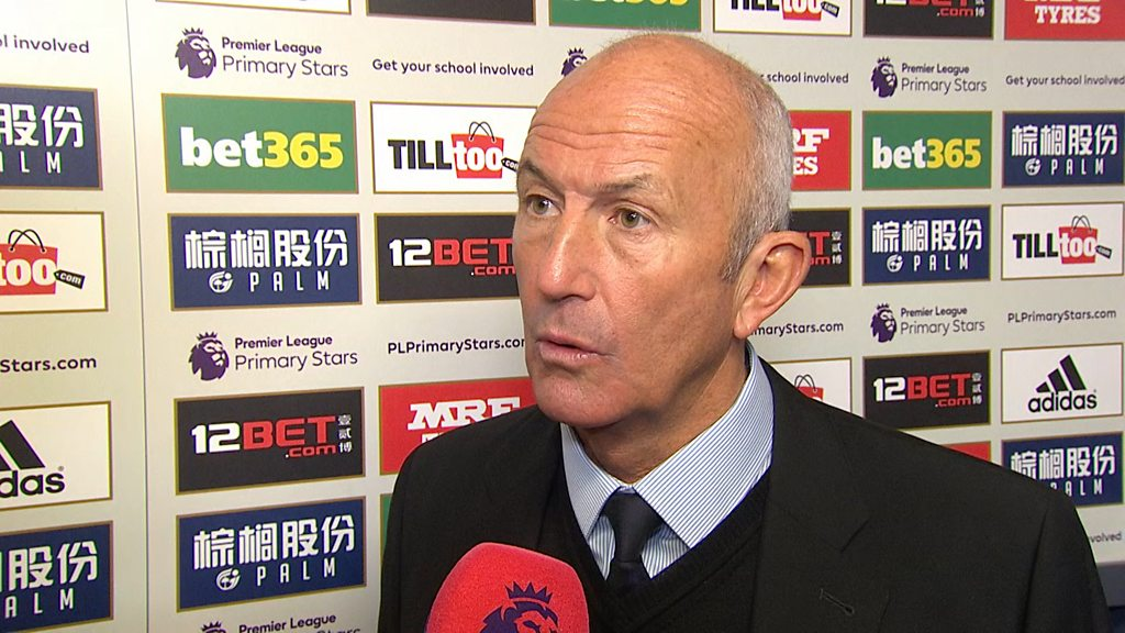 Tony Pulis: Watch his final MOTD interview as West Brom manager