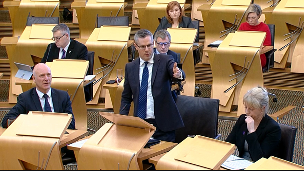 Scottish budget negotiations stall