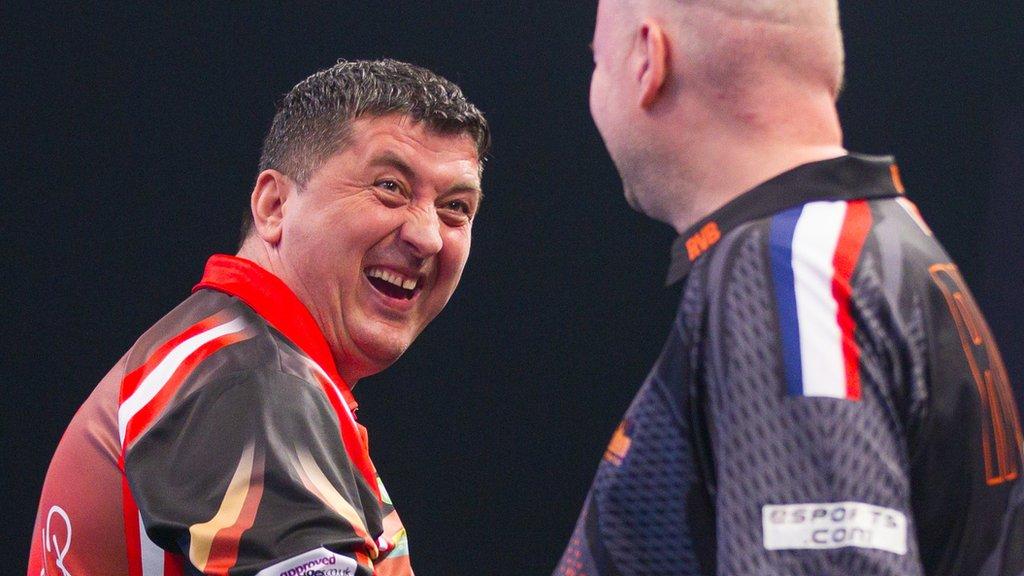 Mensur Suljovic: Champions League of Darts win provided platform for more success
