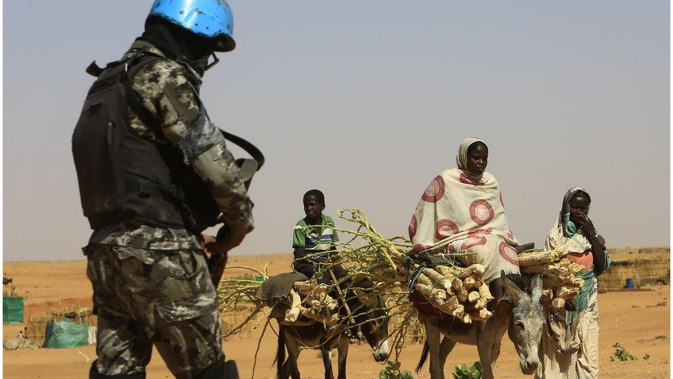 Peacekeeper in Darfur