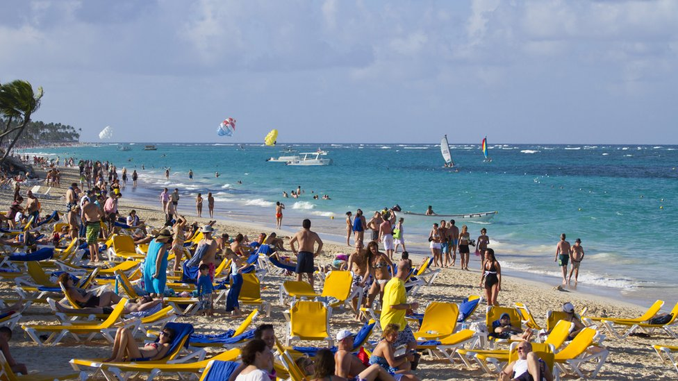 Punta Cana with its beaches is a leading tourist destination