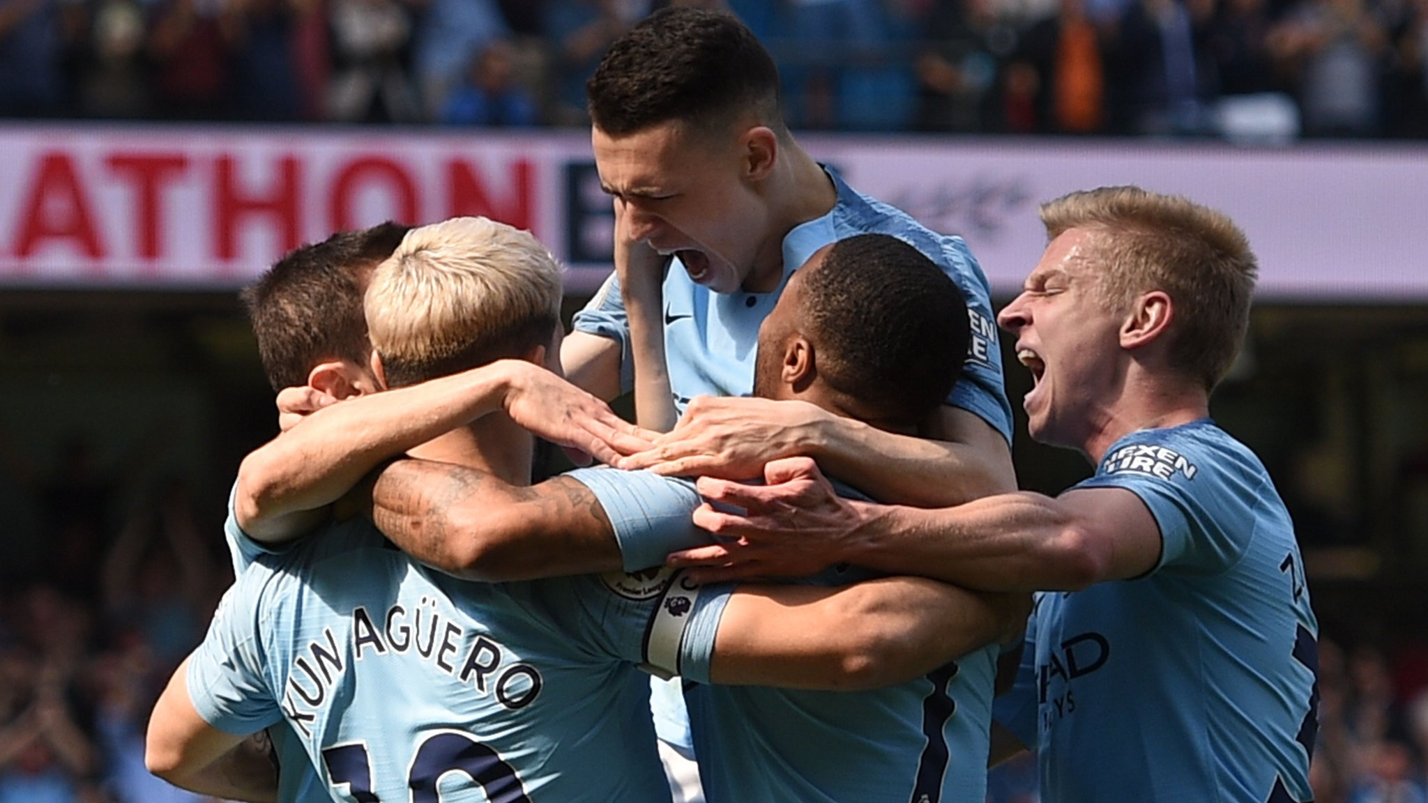 Manchester City 1-0 Tottenham: Phil Foden goal sends City top