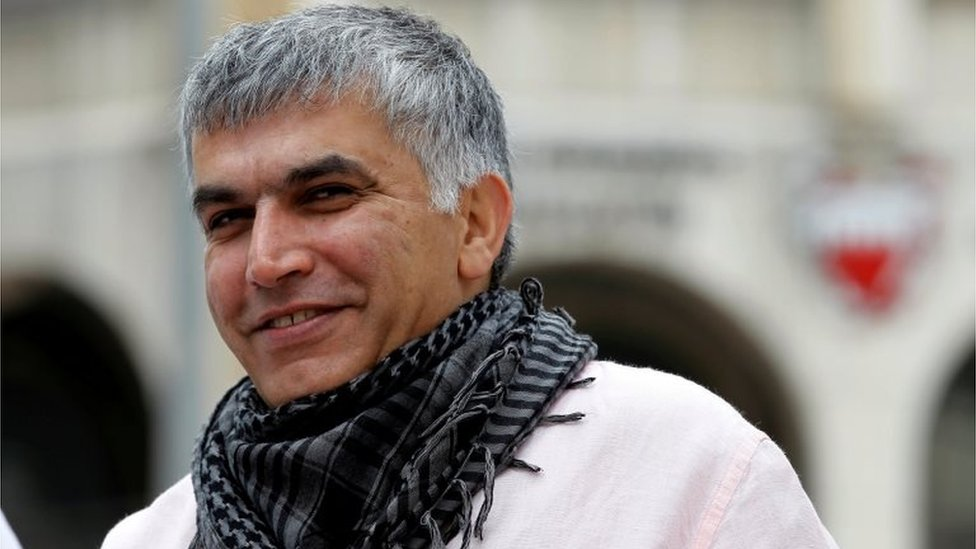 Nabeel Rajab: UN experts call for release of Bahraini activist