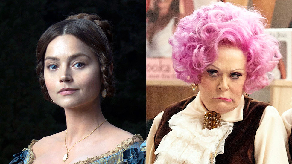 ITV's Victoria reigns over BBC's Are You Being Served? and Porridge revivals