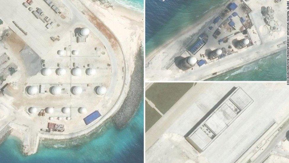 TQ 'sắp xây xong các đảo nhân tạo'