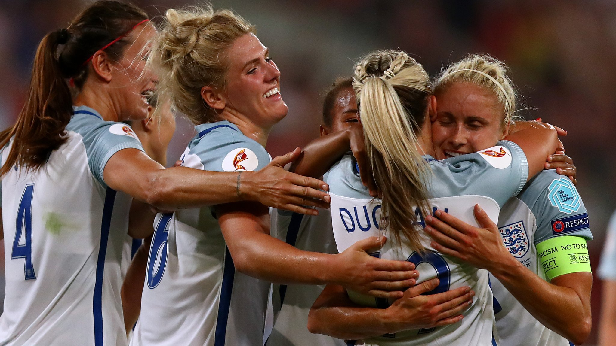 More to come from England after 6-0 win - boss Sampson