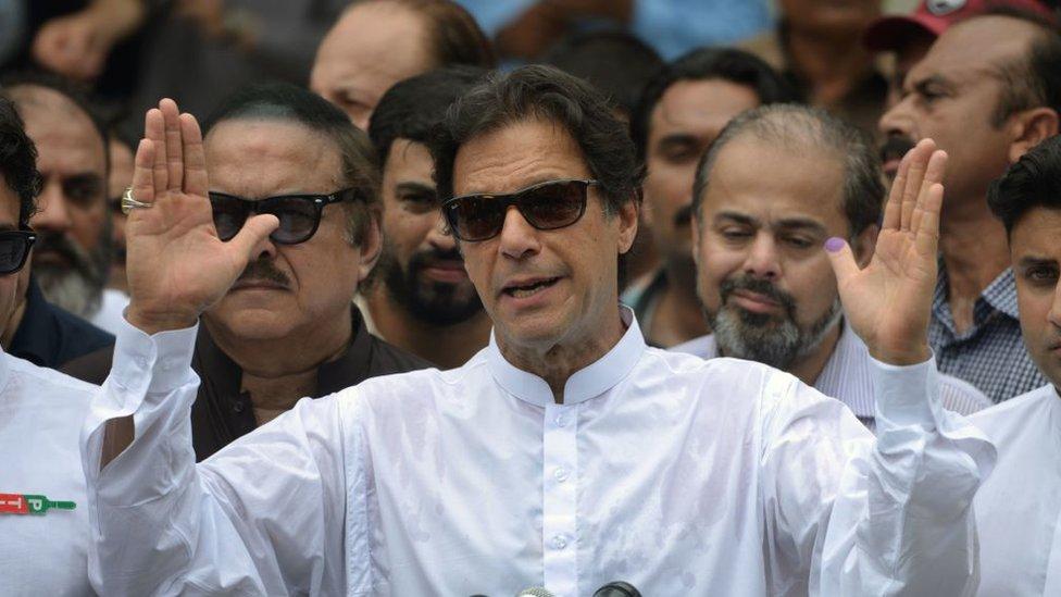 تحریک انصاف ګوند عمران خان لومړي وزارت ته ونوماوه