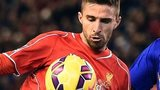 Fabio Borini of Liverpool