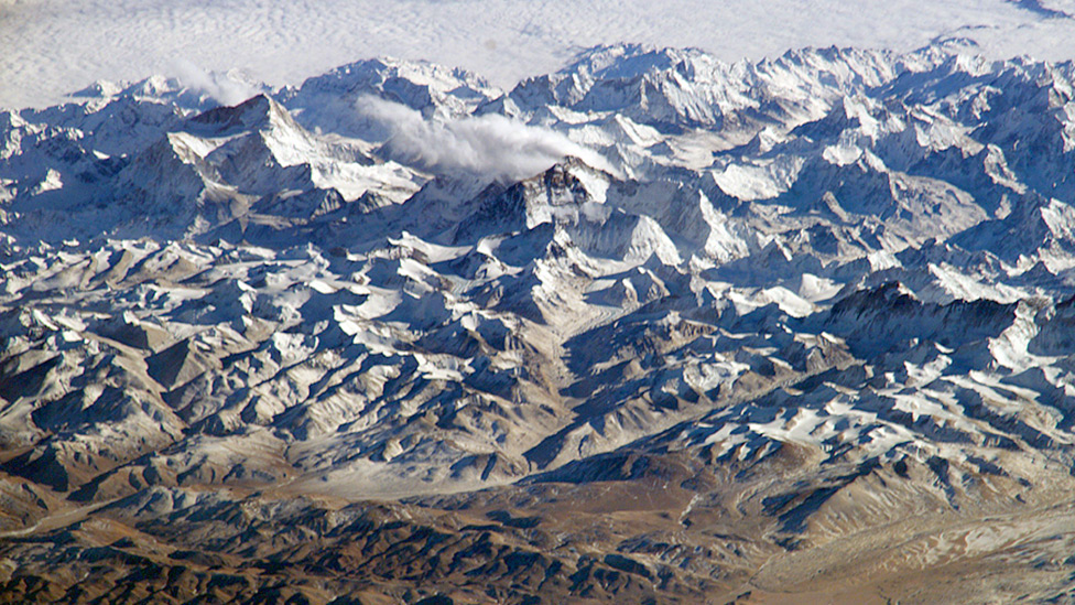 Spy satellites reveal rapid Himalayan glacier melt