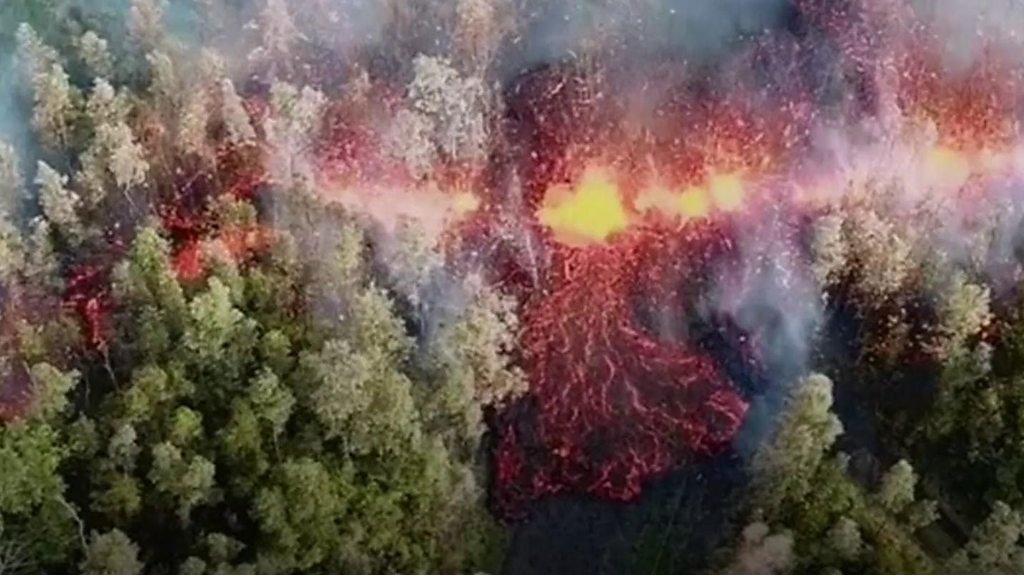 vulkanen på hawaii