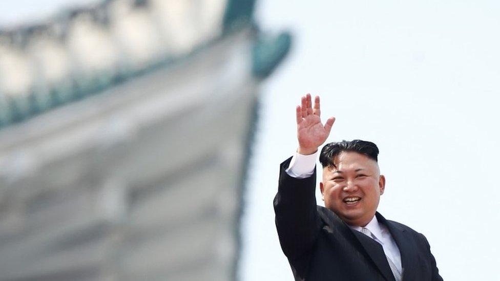 كيم يونغ أون زعيم كوريا الشمالية
