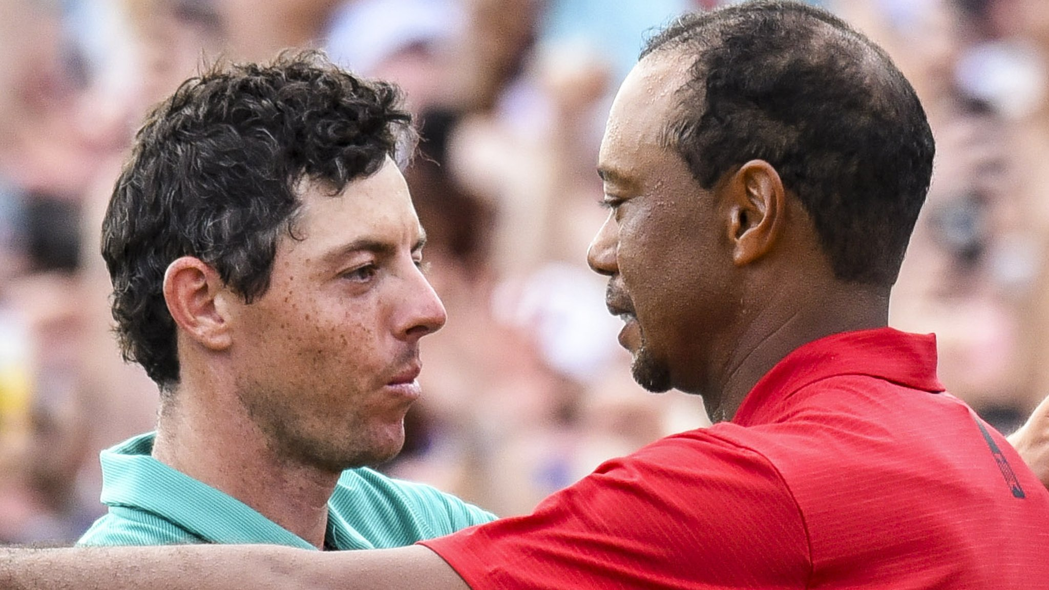 'He's a great kid and we have got close over the years' - Woods on McIlroy friendship