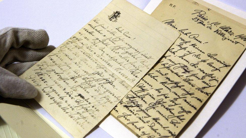 Manuscritos de Ana Frank