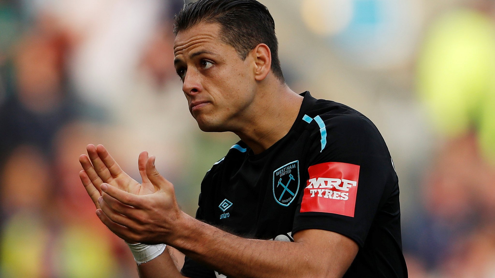 Javier Hernandez: West Ham striker denies reports he has asked to leave