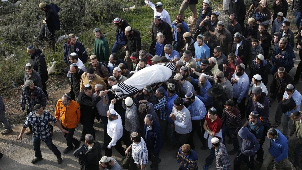 جنازة الحاخام رزيئيل شيفاح
