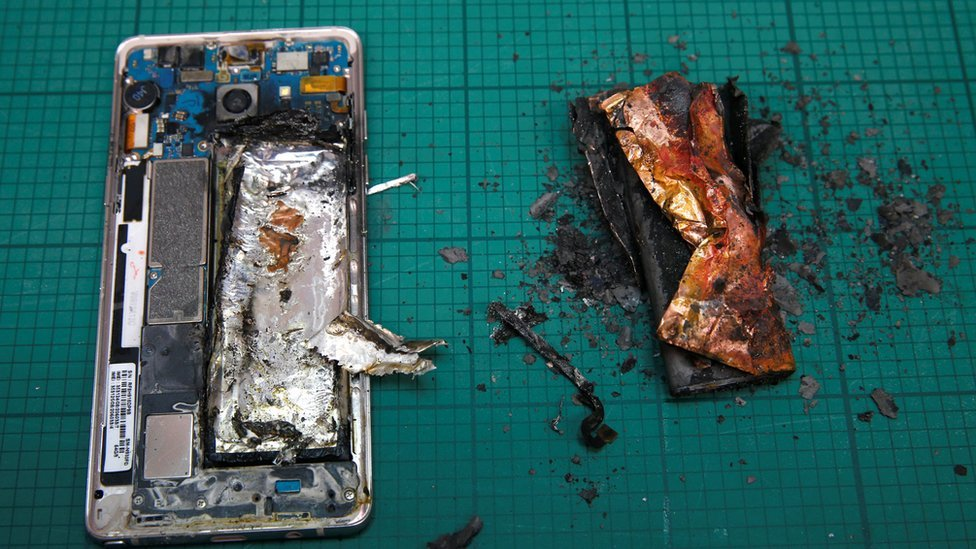 Samsung tuvo que retirar del mercado su producto estrella: el Galaxy Note 7.