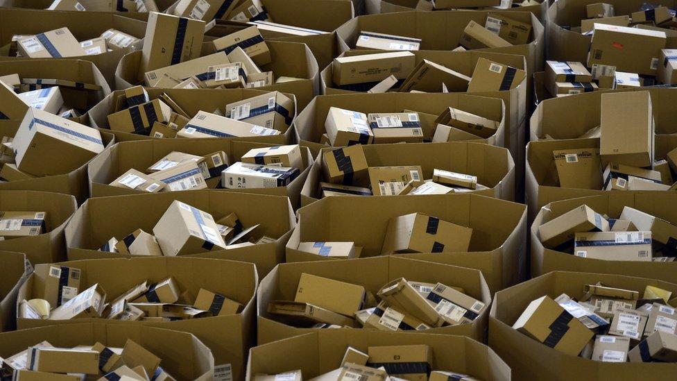 Amazon ha invertido fuertemente en su capacidad de distribución.