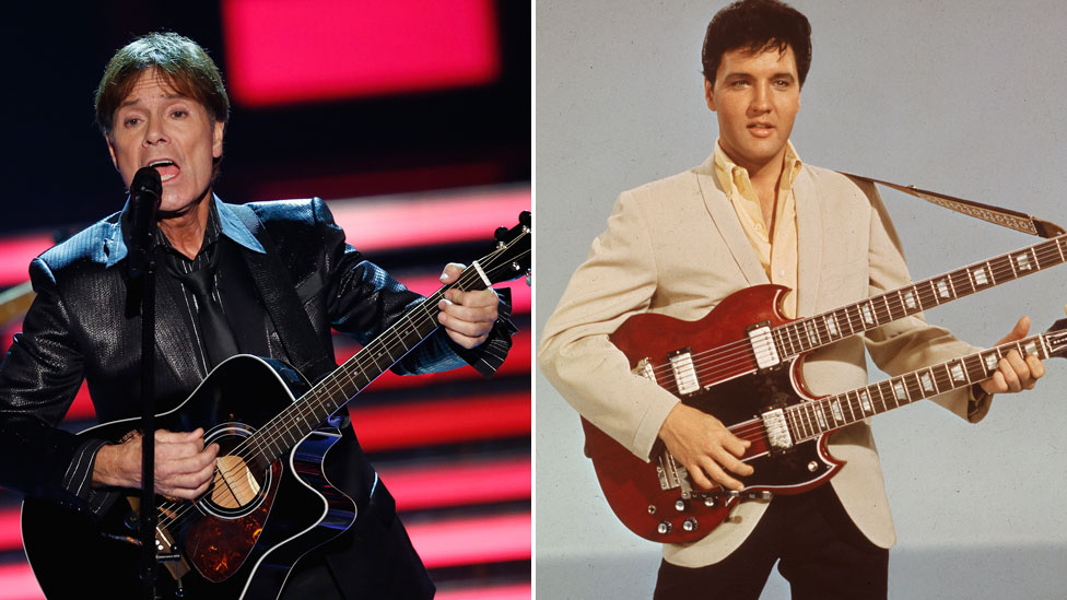 BBC News - Sir Cliff's 101st album to feature duet with Elvis Presley