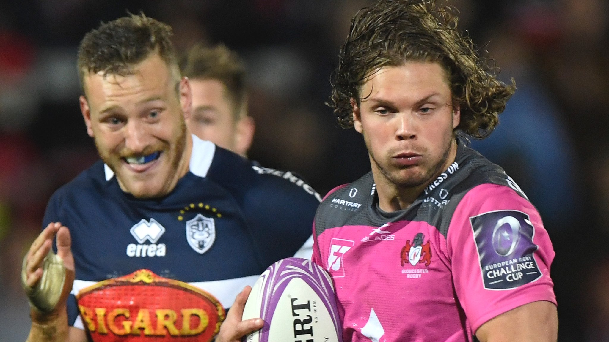 Nine-try Gloucester power to victory over Agen