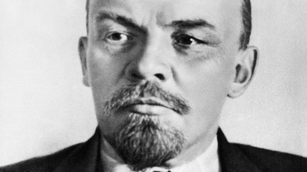 Lenin, el cerebro de la Revolución Rusa, tomó el poder el 1917.