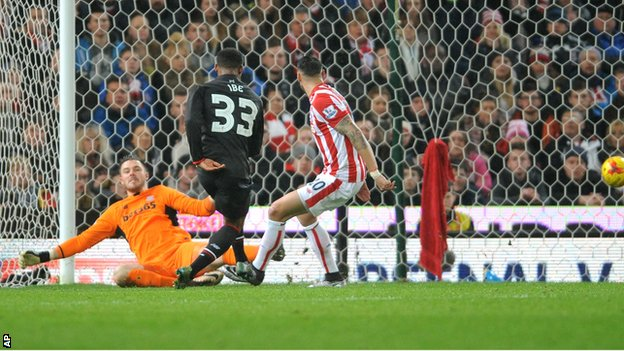 Stoke City 0-1 Liverpool