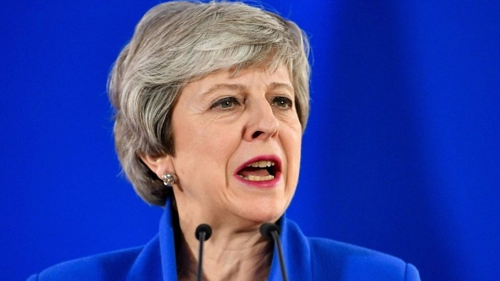 May on Brexit extension: 'The UK should have left the EU by now'