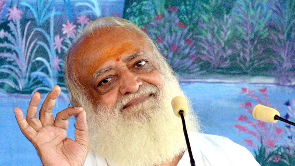 Asaram Bapu: Indian guru sentenced to life for raping girl