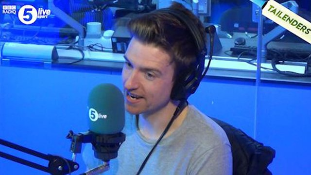 Tailenders: Greg James makes a verbal slip up he isn't allowed to forget