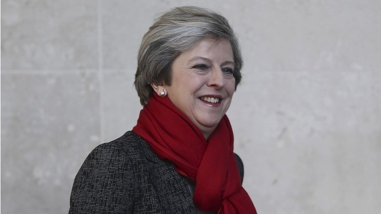 Theresa May promises 'active' industrial strategy