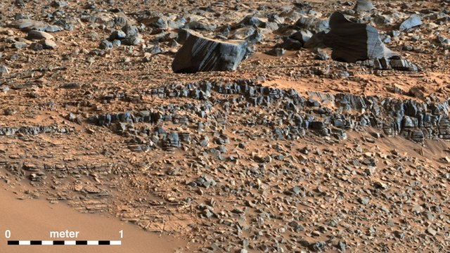 Sanjeev Gupta talks about the rocks of Gale Crater