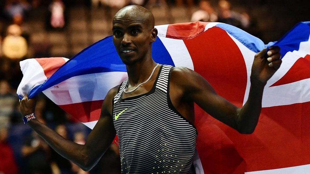Mo Farah wins 5,000m and Laura Muir breaks record at British Grand Prix