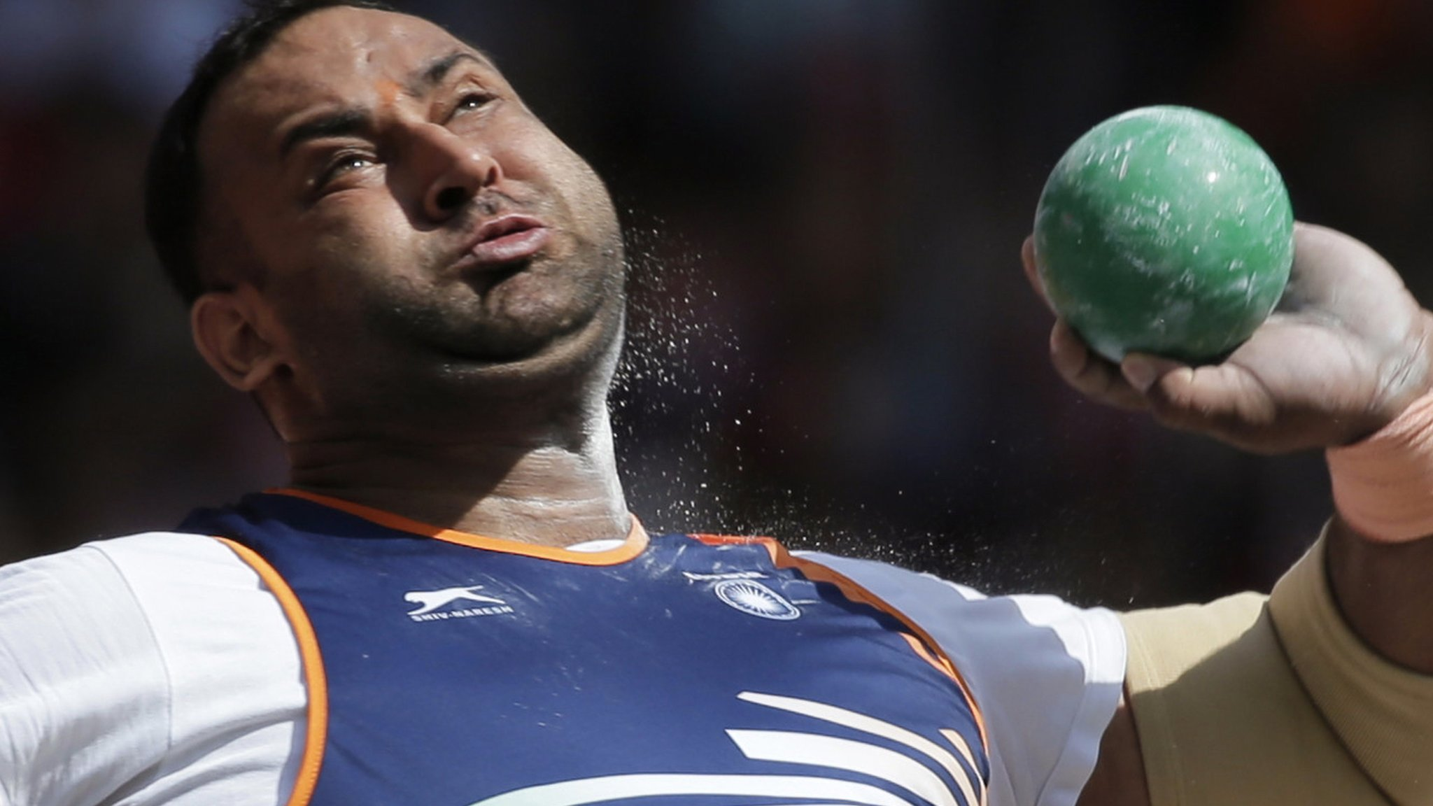 Inderjeet Singh: Indian shot put champion blames positive drug test on conspiracy