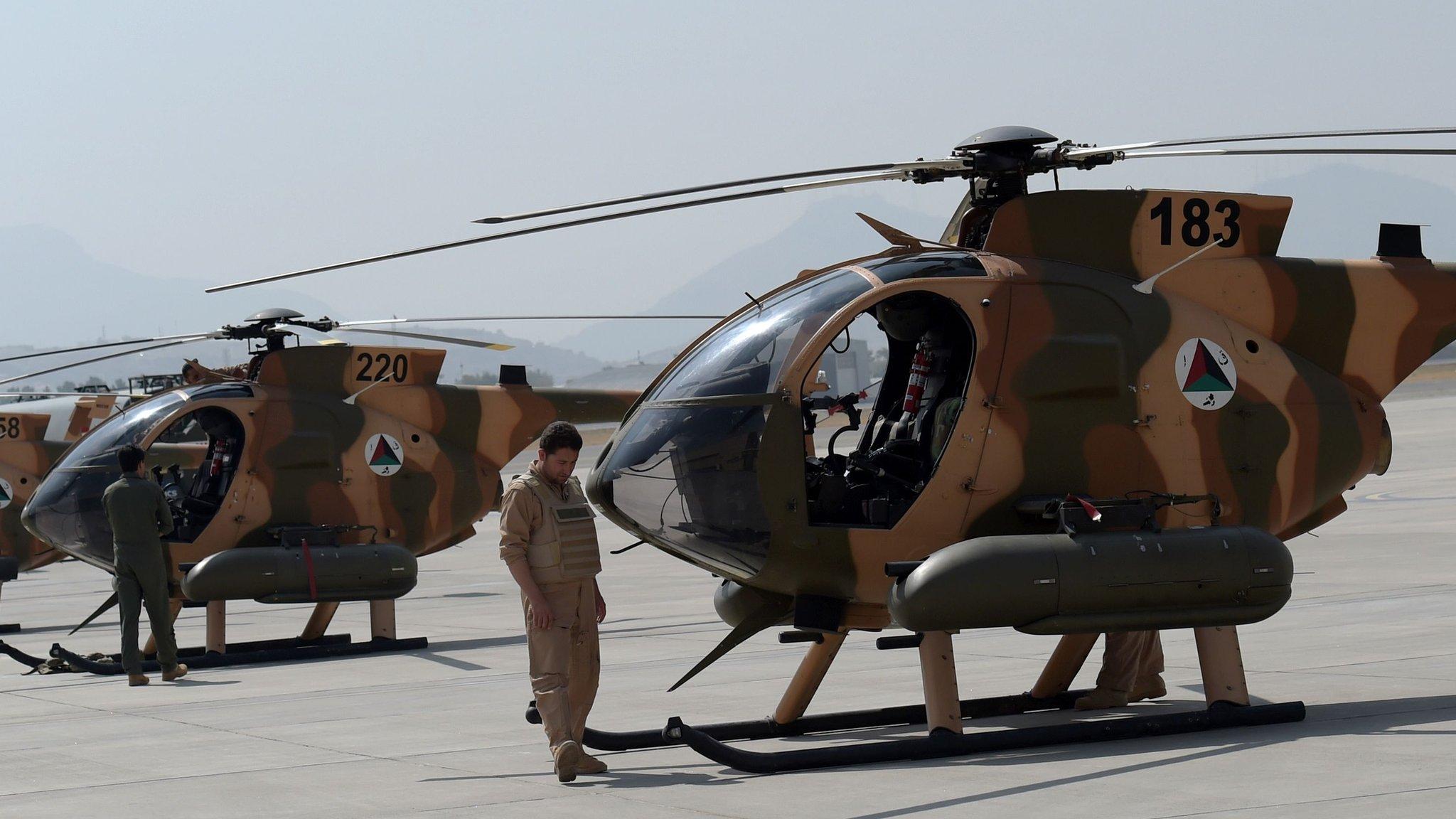 """د افغان پوځ یوه چورلکه کندوز کې """"لوېدلې"""""""