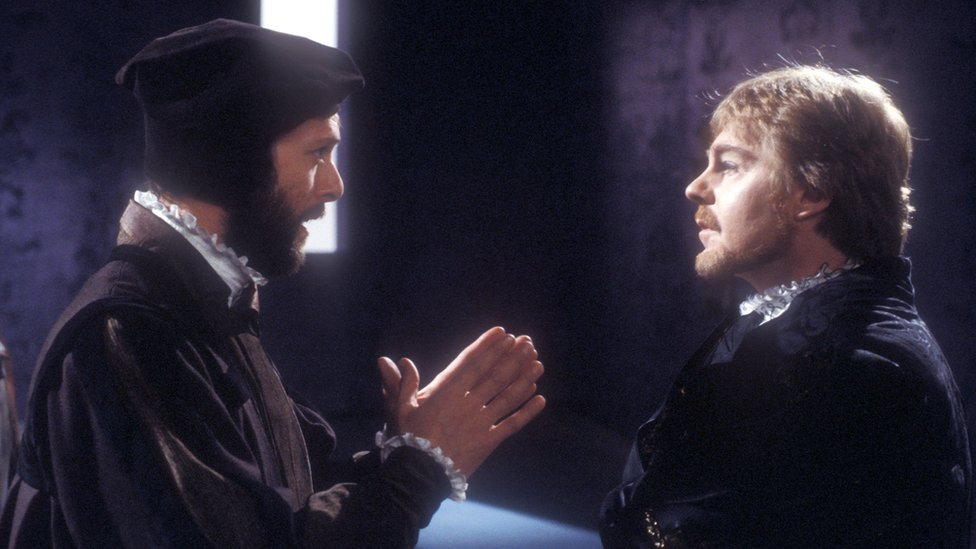Horatio and Hamlet in a BBC production