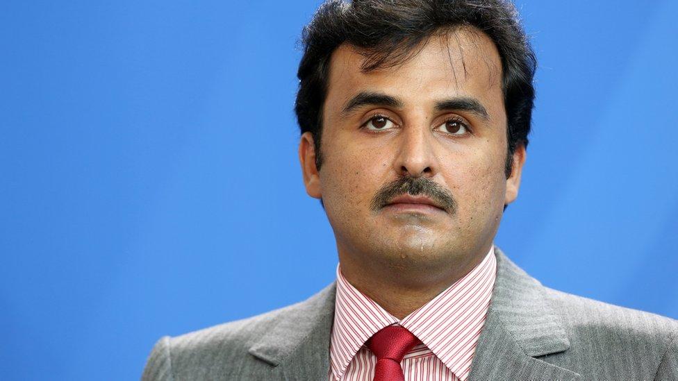 Qatar's Sheikh al-Thani