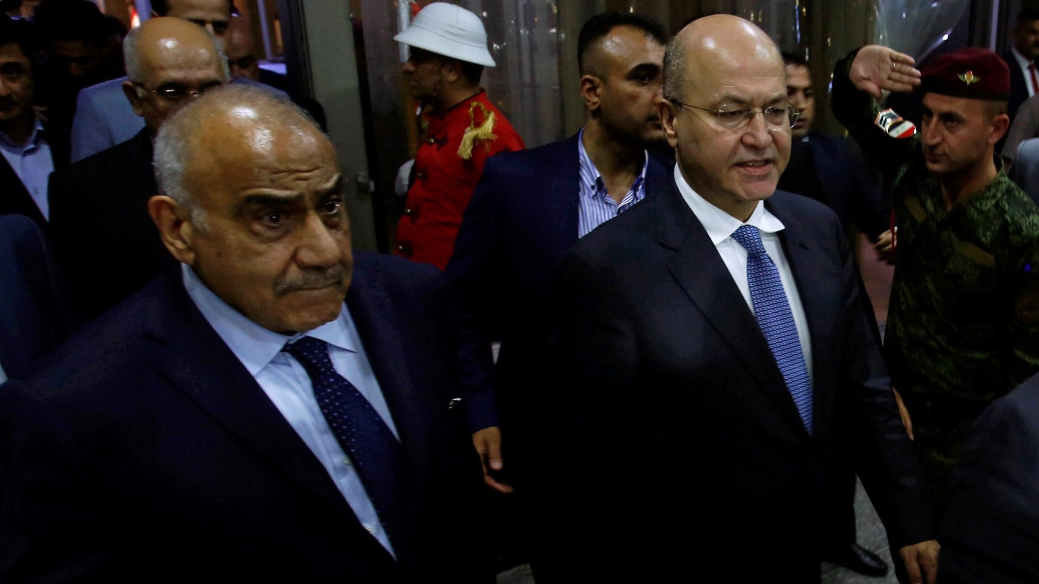 New Iraq President Barham Saleh names Adel Abdul Mahdi as PM