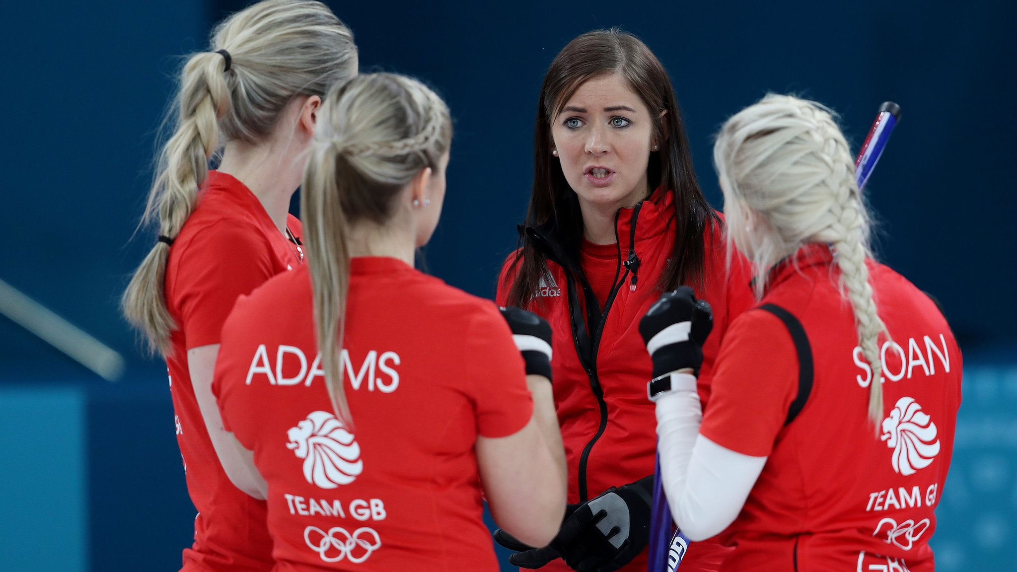 Winter Olympics: GB curling teams record big wins to move closer to semi-finals