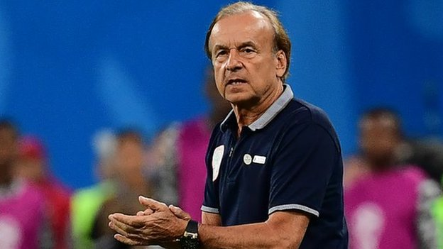 Africa Cup of Nations: Nigeria coach Rohr wants more despite big win