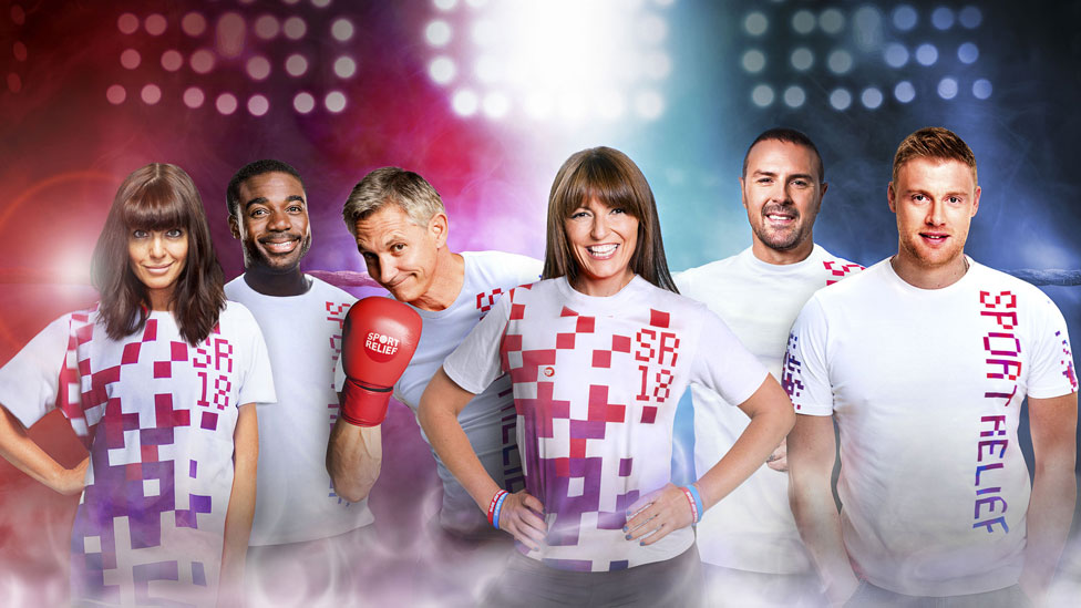 Sport Relief raises more than £38m for charities