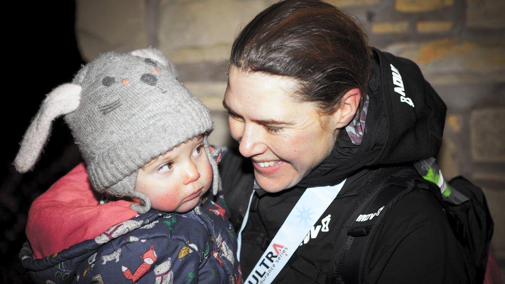 Paris tackles hallucinations and breastfeeding breaks to become first female winner of 'Britain's most brutal race'