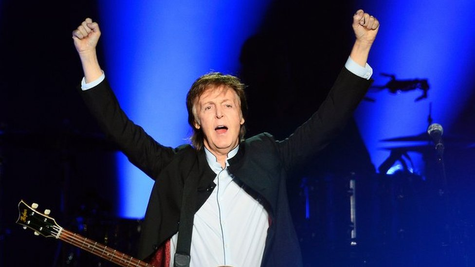 Sir Paul sues Sony over Beatles songs
