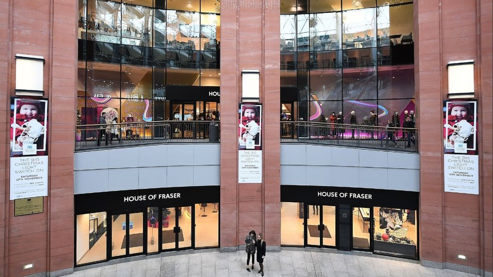 House of Fraser commits to Belfast Victoria Square store