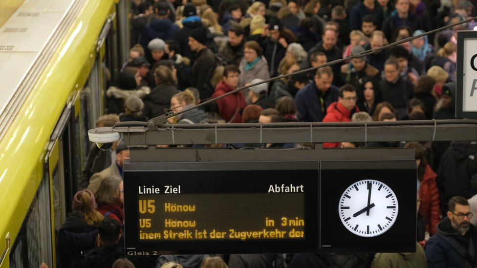 Germany: Train strike hits millions of passengers