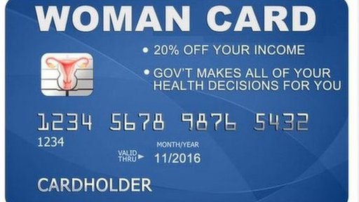 Tweet of Womancard