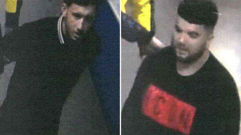 Drake concert attack: Men sought over Manchester Arena assault