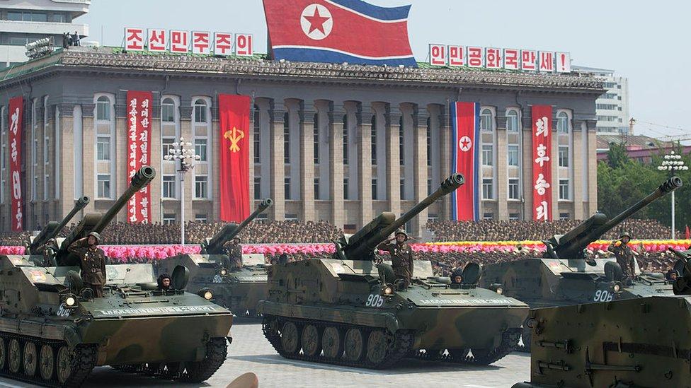 Desfile norcoreano